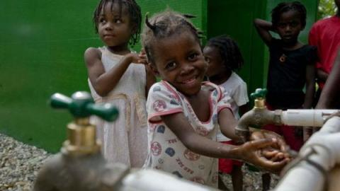 access to clean water in haiti Mrs messer said last year, one of the men they worked with in haiti had to walk several miles to access clean water once we installed that well, they had clean water in their village, she.